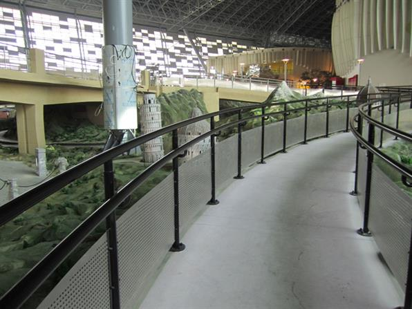 Handrails for AFC / DEPA